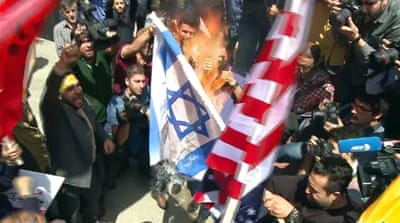 Palestine rally: Iran protest against Israel's Gaza killings