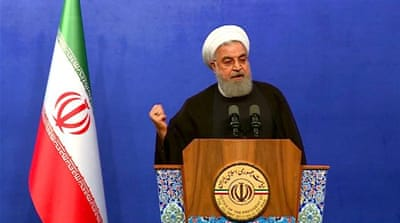 Iran slams US over threat of 'strongest sanctions in history'