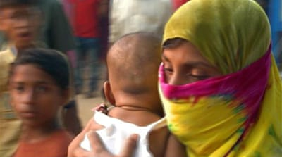 Raped Rohingya women due to give birth in refugee camps