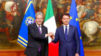 Italy: Giuseppe Conte sworn in as new prime minister