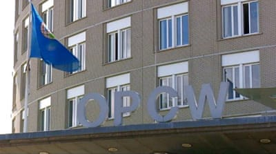 Chemical weapons watchdog OPCW holds emergency conference