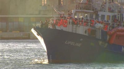 Migrant rescue ship Lifeline under investigation