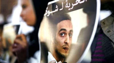 Egyptian journalist 'Shawkan' could face death penalty