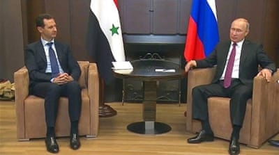 Russia, Iran jostle for influence in Syria