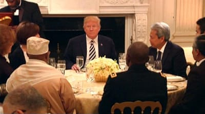 Trump hosts first Ramadan Iftar dinner at White House