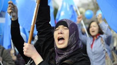 Why are Muslim Uighurs being sent to 're-education' camps?