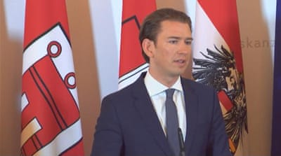 Austria crackdown government to shutdown mosques