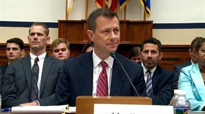 FBI agent Strzok grilled by Republicans in congressional hearing