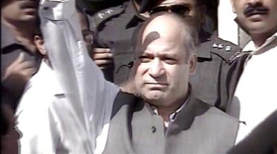 A look at Nawaz Sharif's political career