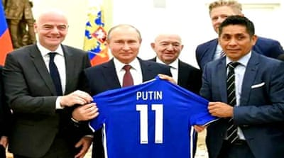 Football diplomacy: Russia praised as World Cup host