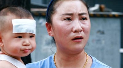 China: Hundreds of thousands of children given fake vaccines