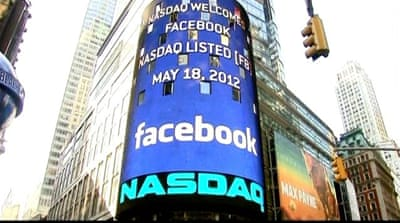 Facebook stock loses $120bn in value after scandals