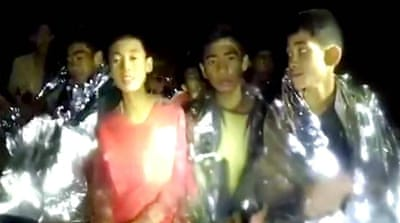 Thailand: New video shows trapped football team in 'good health'