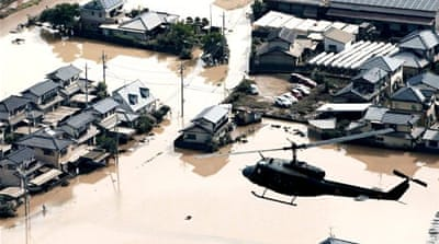 Survivors of devastating Japan floods express shock