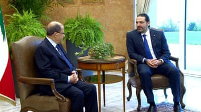 Political parties in Lebanon struggle to form government