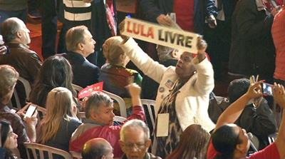 Brazil election: Thousands call for Lula da Silva to run