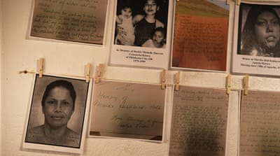What's being done to prevent disappearances of Native American women?