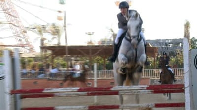 Show jumping in Gaza: Riding brings hope