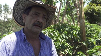 Colombia's coffee workers despair over low wage
