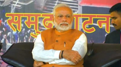 India PM Modi faces corruption allegations