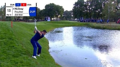 Ryder Cup: Europe extend lead over US