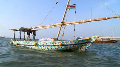First recycled-plastic dhow makes Kenya-Zanzibar trip