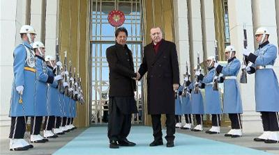Pakistan PM Khan says he wants to strengthen ties with Turkey
