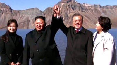Historic year of inter-Korea relations sees drop in tensions