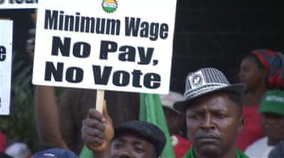Nigeria 'failing' to implement increased minimum wage