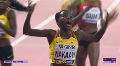 2019 IAAF championships see golden night for African athletes