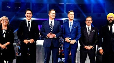 Canada's final election debate stirs heated exchanges