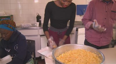South African students suffering hunger crisis
