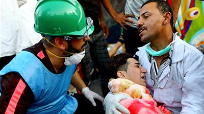 Iraq protests: Medics say they are being targeted