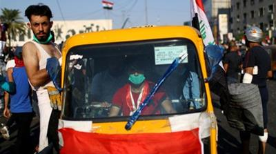 Iraq protests: How tuk-tuks became symbol of resistance