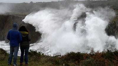 Storms Elsa, Fabien wreck parts of Western Europe