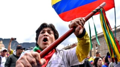 Colombian protesters prepare for a third national strike