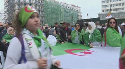 Algeria protests: Partial strike under way in the capital