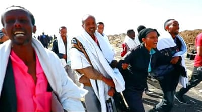 Ethiopia airlines crash: Families of victims visit site