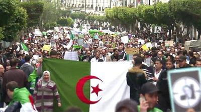 Algeria risks further political unrest as protests persist