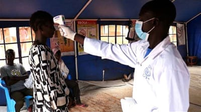 Ebola defence: South Sudan steps up border checks
