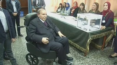 Algeria protests grow as Bouteflika adamant on fifth term