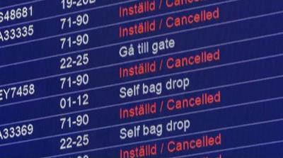 SAS strike results in 1,200 cancelled flights