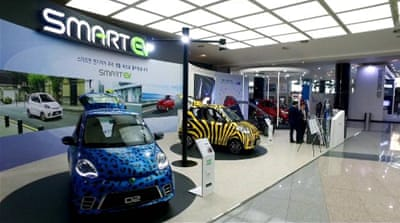 South Korea's green vision for electric cars