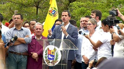 Venezuela's Guaido 'to seek US military support' to topple Maduro
