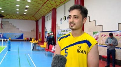Iran's sitting volleyball team prepares for Paralympics