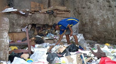 After economy, Venezuela's waste collection system collapses