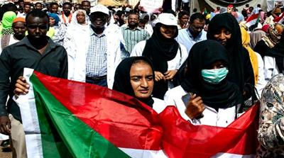 Sudanese protesters strike over civilian rule, challenging army