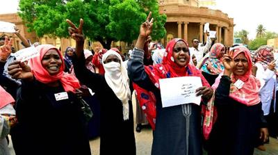 Sudan strike: Pregnant woman killed at protest