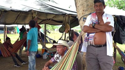 Violence continues to displace farmers in northern Colombia