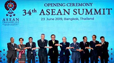 ASEAN leaders promise closer ties, wrap up Bangkok summit